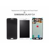 Pantalla Lcd + Mica Completa Samsung S5 Original