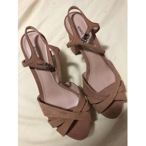 e17c72c94 Sandália Plataforma Schutz - Sapatos Marrom no Mercado Livre Brasil