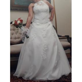 Vestidos de novia color celeste