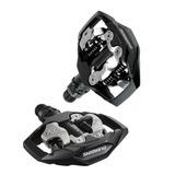 Pedal Clip Shimano Plataforma Pd-m530 Preto C/ Taquinhos