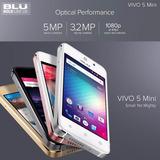 Blu Vivo 5 Mini 3g - Tela 4.0 - Selfie - Jogos - Rede Socias