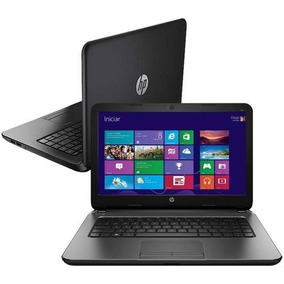 Notebook Hp 240 G3 Intel Core I3-4005u 4gb / 500 Hd Led 14