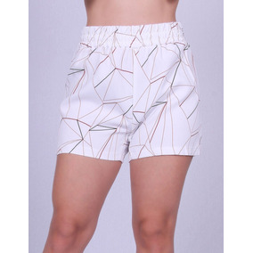 Short Estampado Ellabelle U-1187 - Asya Fashion