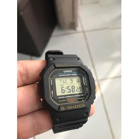 Casio G-shock Dw 5600 Serie Ouro Garantia Casio