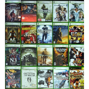 4 Jogos Xbox 360 Midia Fisica Originais Games