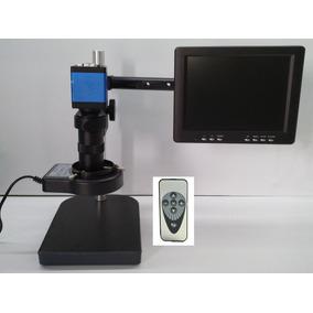 Microscopio 13mpx, Con Pantalla 8 Pulgadas
