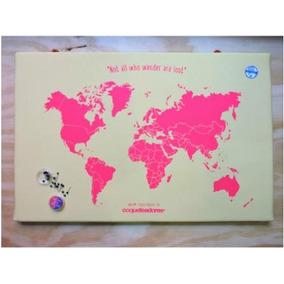 Raspa Mapa 60x40cm- Tienda Puro Diseño