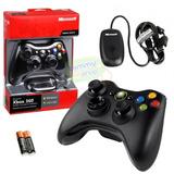 Control Xbox 360 Inalambrico Con Receptor Super Oferta Nuevo