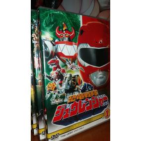 Kyoryu Sentai Zyuranger - Dvds Originais Toei