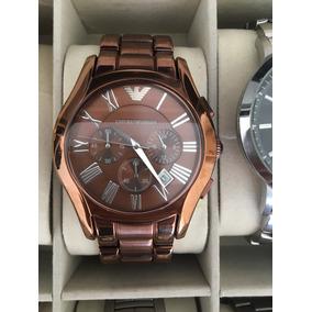 cbd2aef1ff9 Relógio Emporio Armani Marrom - Relógios no Mercado Livre Brasil