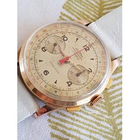 77910e84f97 Relógio Breguet Exército Guerra Cronógrafo Ouro Valjoux 72. Usado - Mato  Grosso do Sul · Relogio Delbana Cronografo Corda Caixa Ouro 18k Rsc. R   3.995