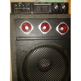 Planta Amplificador De Sonido Hwin America Con Dos Cajones