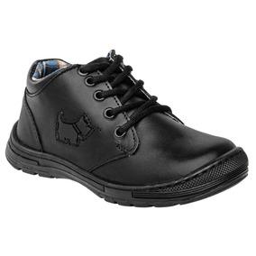 Zapato Escolar Niño Negro 18-21 S/m ¡¡envió Gratis¡¡¡