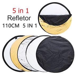 Rebatedor E Difusor Circular 5 Em 1 Com 110cm + Bolsa