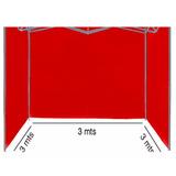 Paredes Toldo 2x2/3x3 (sin Lona Sin Estructura) 100%imperme