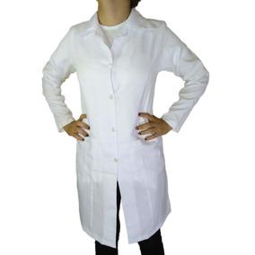 467e79af6a Jaleco Feminino Oxford Acinturado Branco Guarda Pó Qualidade