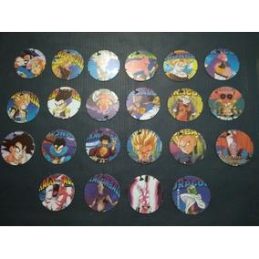 Elma Chips - Coleção Dragon Ball Z - Lote Com 22