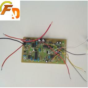 Placa De(fibra) Montada Detector De Metais Pi Polonês