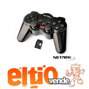 Gamepad Inalambrico Ps3-ps2-pc 507 - Netmak
