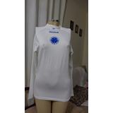 7a44ec71f1 Camisa Manga Longa Do Cruzeiro Feminina Da Reebok - Linda