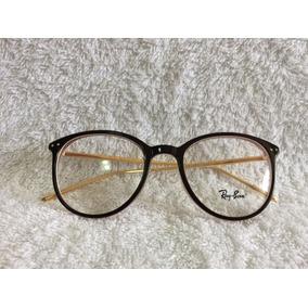 Oculos Marrom De Grau Feminino Quadrado Ray Ban - Óculos no Mercado ... 2cf5160c90