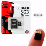 Memoria Micro Sd Con Adaptador 8 Gb Kingston Clase 10