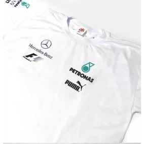 Camisa Polo Mercedes Petronas Fórmula 1 F1 2019