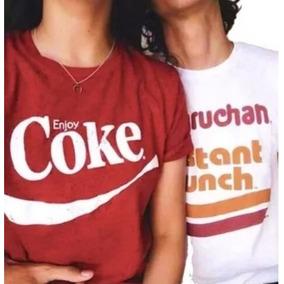 Dúo Playeras Pareja O Amigos Maruchan Coca Todas Las Tallas