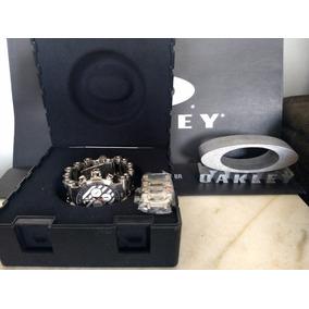Relógio Oakley Hollow Point White Dial Novo ( Coleção)