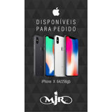 iPhone X 64gb Lacrado Novo