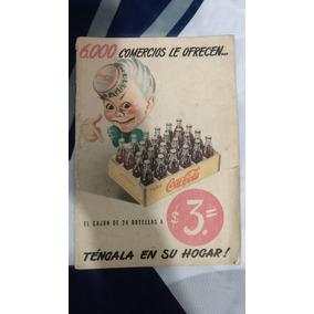 Revista Coca-cola Em Espanhol Antiga E Rara