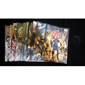 Lote Avengers De Hickman Completo
