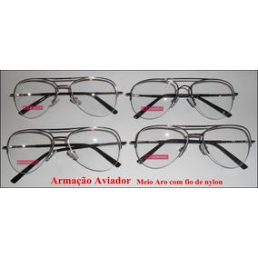 981b0125de552 Armação De Óculos Aro Aberto - Óculos no Mercado Livre Brasil