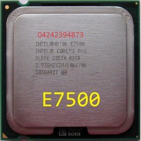Procesador Intel Core2 Duo E7500 2,93ghz