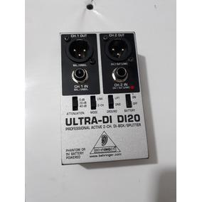 Direct Box Ativo Behringer Ultra Di-20 Di 20 Semi-novo