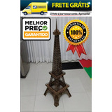 Miniatura Torre Eiffel 1,25 Metros Em Mdf Cru