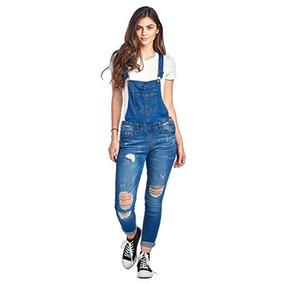 Overol Ajustable Jeans De Mujer Marca Khanomak