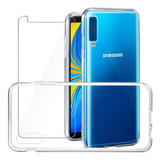 Smartphone Samsung Galaxy A7 128gb 2018 + Capa A750 Novo