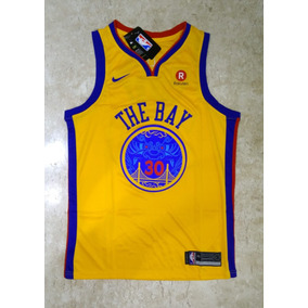 0188b500e Camisa Regata Golden State Warriors Stephen Curry The Bay
