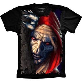 Camisa, Camiseta Games Thundercats Mumm Ra Personalizada Top