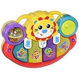 Piano Musical Playgro Juguete Bebé Lion Activity Kick Toy