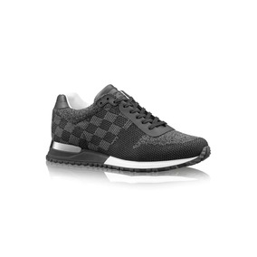 Tenis Lv Louis Vuitton Run Away Sneakers Charcoal Uk7 Tennis