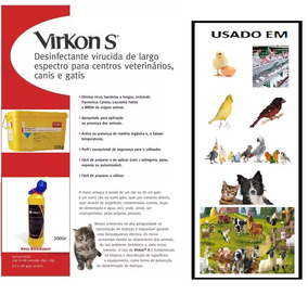 Virkons-s 50gr - Bactericida/viricida/fungicida -fração 50gr