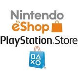 Saldo Nintendo Eshop Card Wii U Switch 3ds Psn Playstation