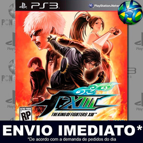 Jogo Ps3 The King Of Fighters Xiii 13 Play Psn Envio Rápido