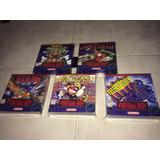 5 Cajas Custom Para Juegos Virtual Boy (solo Son Cajas)