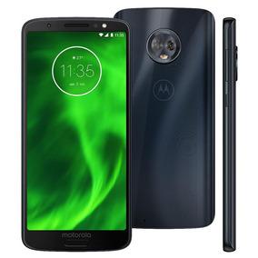 Smartphone Motorola Moto G6 Xt1925 32gb 12mp Tela 5.7 Índigo