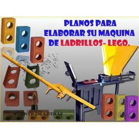 Kit Proyecto Maquina Para Hacer Ladrillos Lego Ecológico