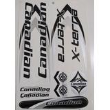 Kit Com 05 Uni. Canadian /adesivo De Bicicleta Variados