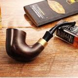 Cachimbo De Madeira Para Fumar Piper - Kit Completo